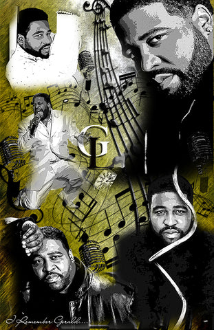 "Gerald Levert ""Collage""  D-3"