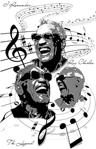 "Ray Charles ""Tribute"" D-3"
