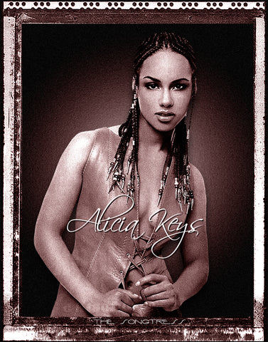 "Alicia Keys ""Polaroid"" D-3"