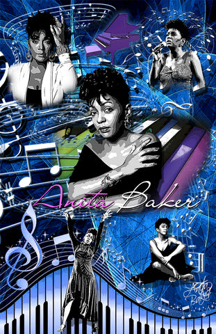 "Anita Baker ""Collage"" D-4"