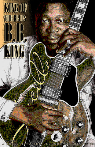 "B.B. King ""King Of The Blues""  D-4"