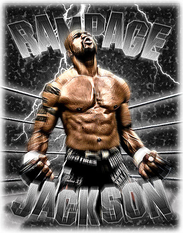 "Rampage Jackson ""Tribute"" D-4"