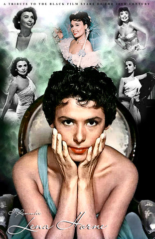 "Lena Horne ""Collage"" D-4a (Print)"