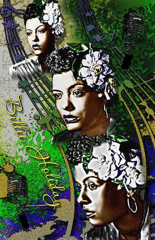 "Billie Holiday ""Flowers"" D-5"