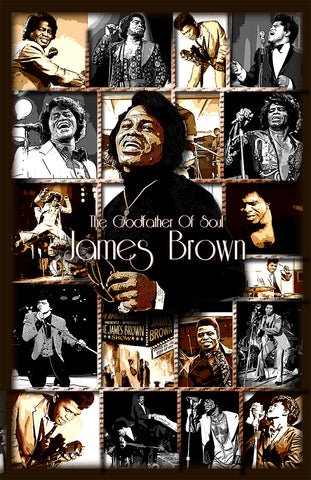 "James Brown ""The Godfather Of Soul"" D-7"