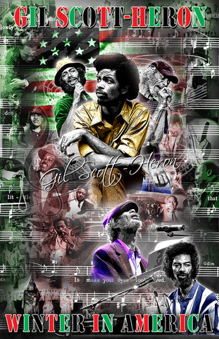 "Gil Scott-Heron ""The Reveloution Will Not Be Televised"" D-2"