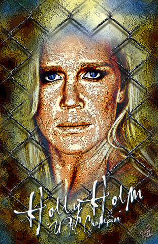"Holly Holm ""Texture"" D-1"