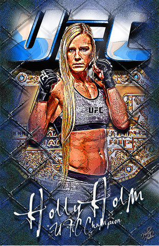 "Holly Holm ""UFC Champion"" D-2"