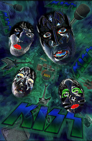 "Kiss ""Solarized"" D-2"