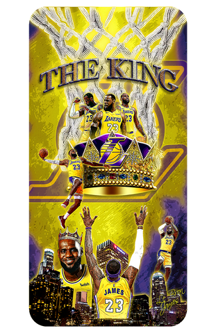 "LeBron James ""The King"" D-4"