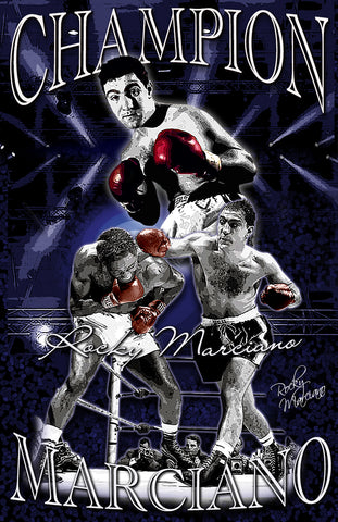"Rocky Marciano ""Champion"" D-2 (Print)"