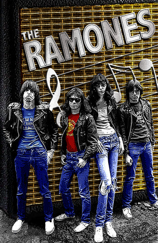 "The Ramones ""The Speaker"" D-3"