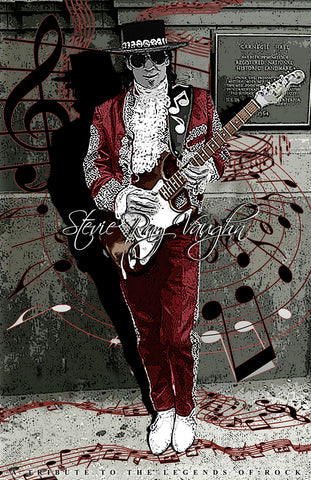 "Stevie Ray Vaughn ""At Carnegie"" D-3"