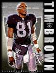 "Tim Brown ""HOF"" D-1"