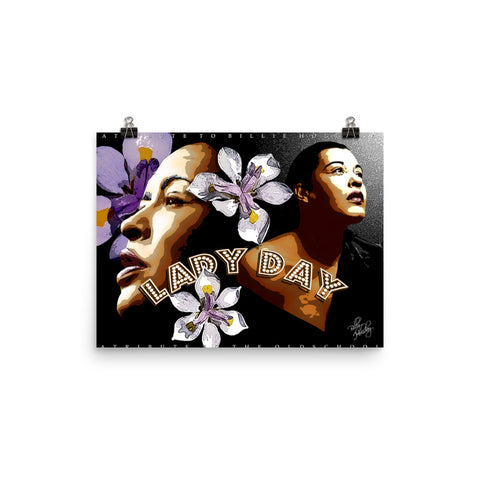 "Billie Holiday ""Lady Day"" D-2"