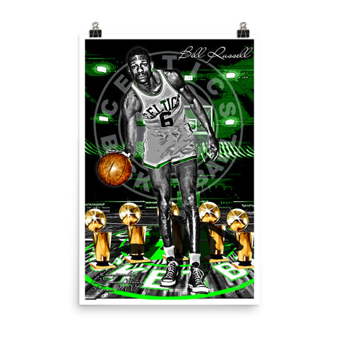 "Bill Russell ""Tribute"" D-1"