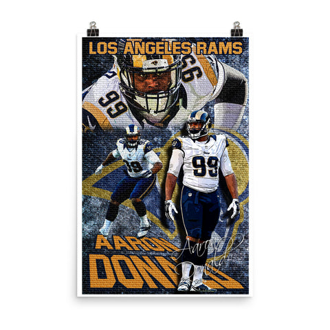 "Aaron Donald ""Collage"" D-2"