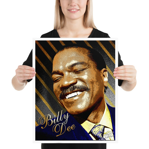 """Billy Dee"" Billy Dee Williams Print"