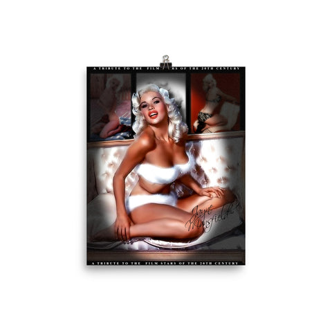 "Jane Mansfield ""Tribute To Film Stars of The 20th Century"" D-2 (Print)"
