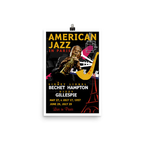 "Sidney Bechet ""American Jazz In Paris"" D-1"