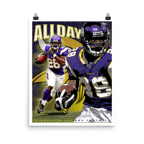 "Adrian Peterson ""All Day"" D-1"