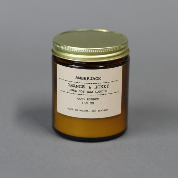 Amberjack Orange & Honey Candle