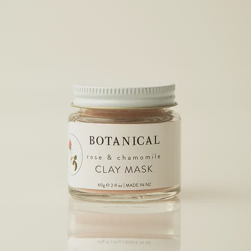 Botanical Rose & Chamomile Clay Mask