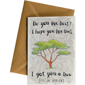 Little Difference Gift Card - I Got You A Tree