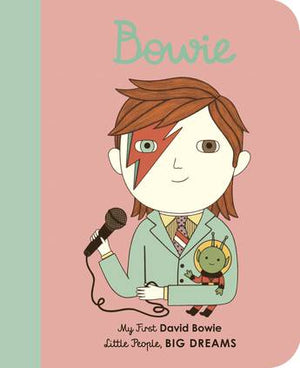 My First Little People Big Dreams Board Book - David Bowie