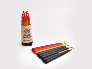 100% Beeswax Birthday Candles