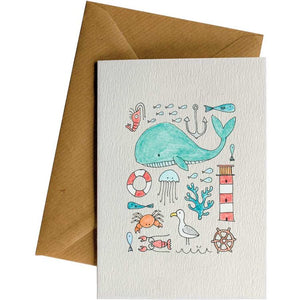 Little Difference Gift Card - Sea Montage