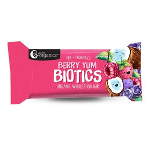 Nutra Berry Yum Biotics Wholefood Bar