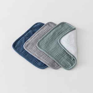 Over The Dandelions Organic Muslin Washcloths 3pk - Calm