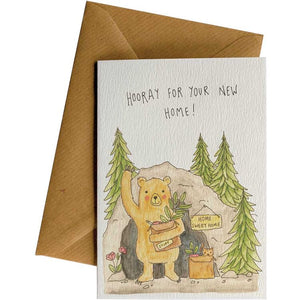 Little Difference Gift Card - New Home Bear