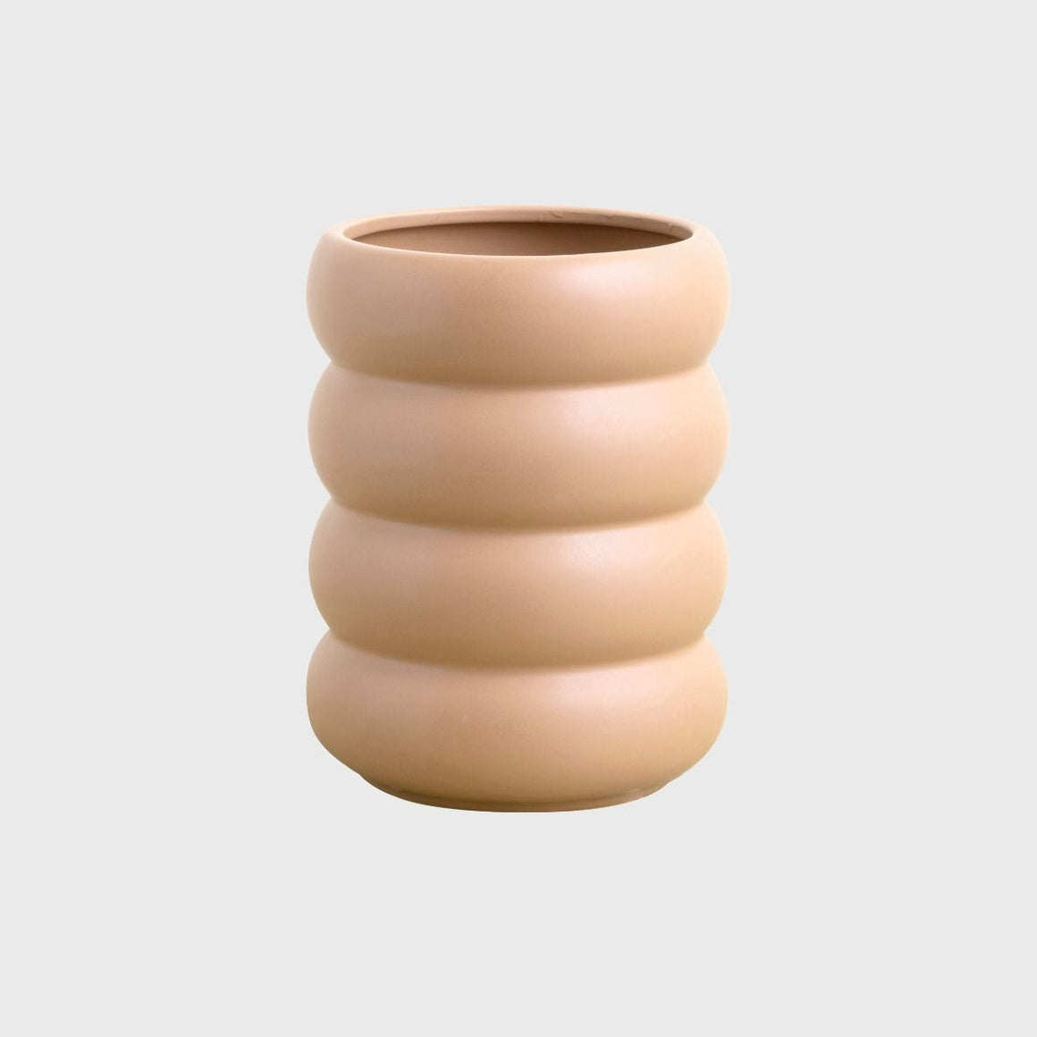 Milan Planter Tall - Nude