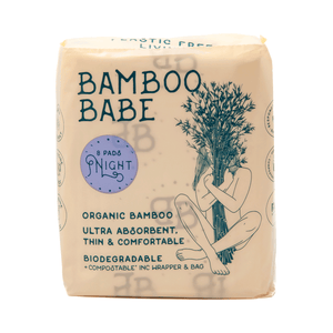 Bamboo Babe Biodegradable Pads