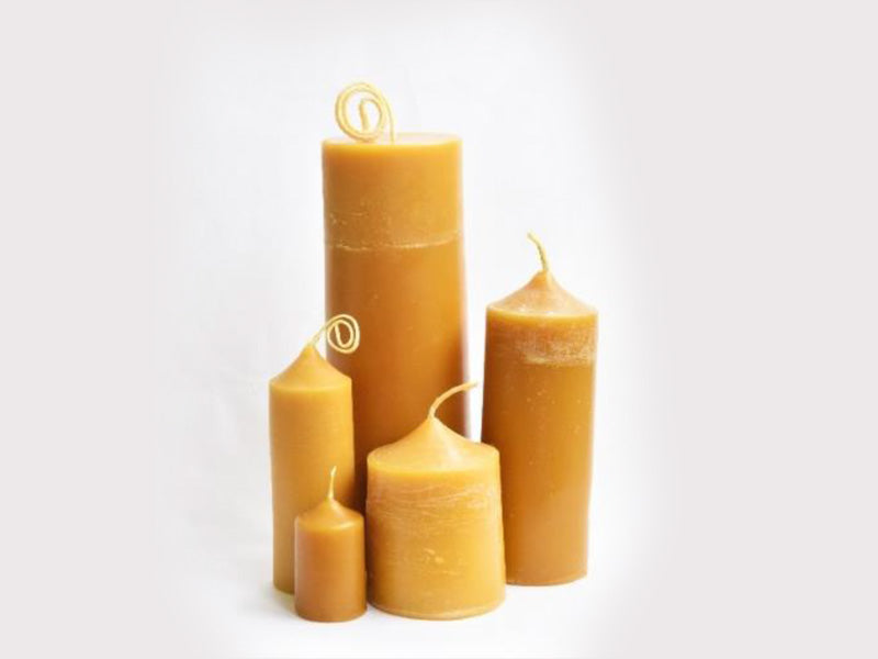 100% Beeswax Cafe Candle