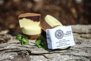 Dirty Hippie Shampoo Bar - Peppermint Patchouli