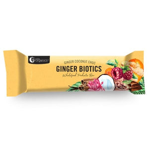 Nutra Ginger Biotics Wholefood Bar