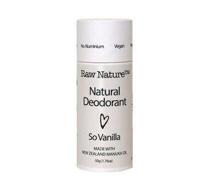 Raw Nature - So Vanilla Deodorant Stick 50g