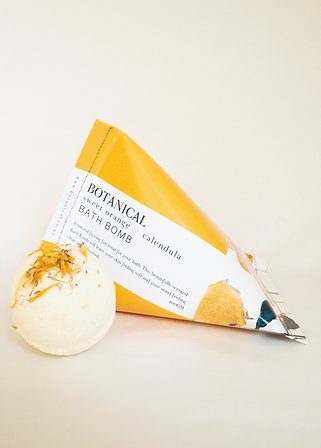 Botanical Bath Bomb - Calendula & Sweet Orange