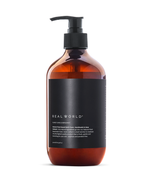 Real World Natural Bath Foam - Ylang Ylang and Bergamot