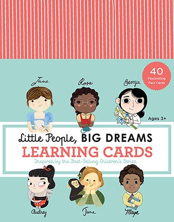 Little People Big Dreams - Learning Cards