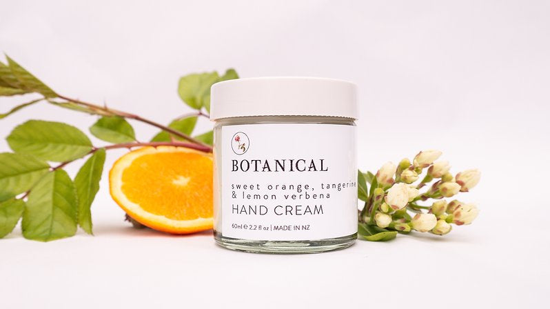 Botanical Hand Cream - Sweet Orange, Tangerine & Lemon Verbena