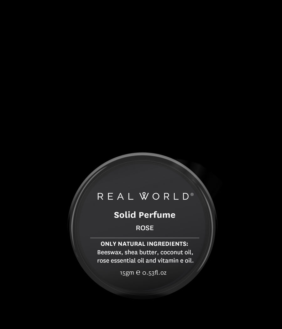 Real World Solid Perfume - Rose