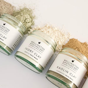 Wellington Apothecary Green Clay Face Mask