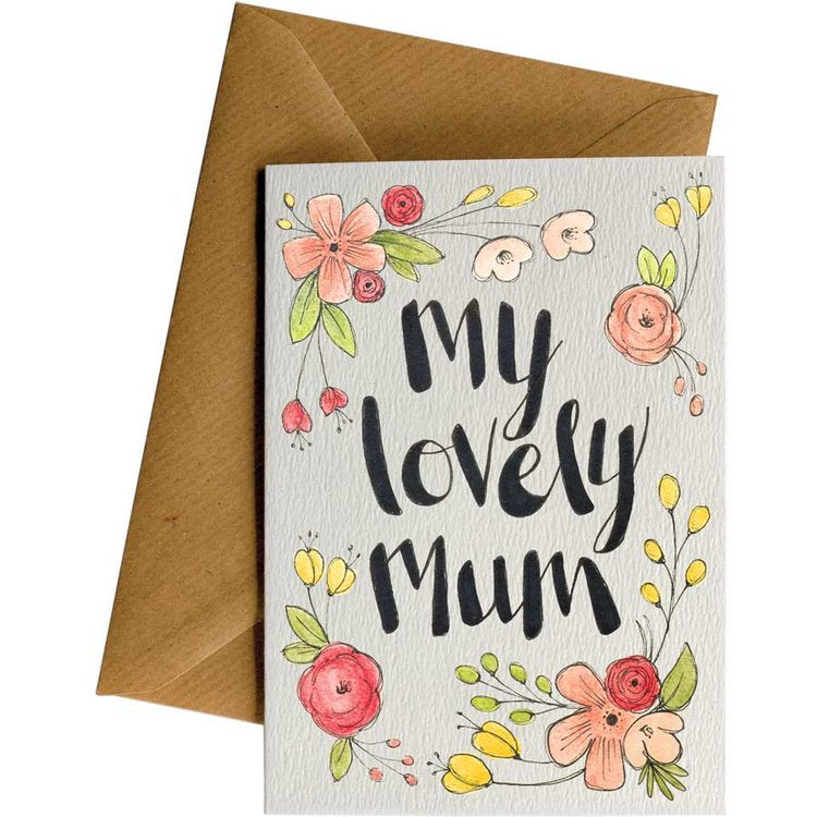 Little Difference Gift Card - Lovely Mum Flowers