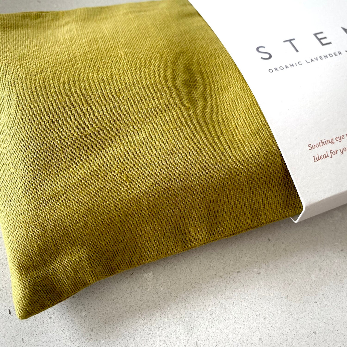 Stem Linen Eye Pillow - Organic Chamomile & Lavender