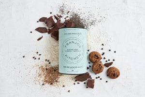 Franjos Kitchen Tanker Topper Lactation Cookies - Gluten Free Choc Chip