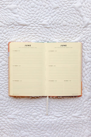 Frank Stationery - 2021 Weekly Planner Pastel